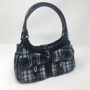 BCBGirls Blue & Black Shoulder Bag